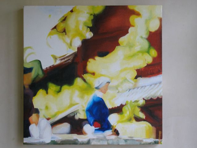 Lijiang oil on canvas, R1000