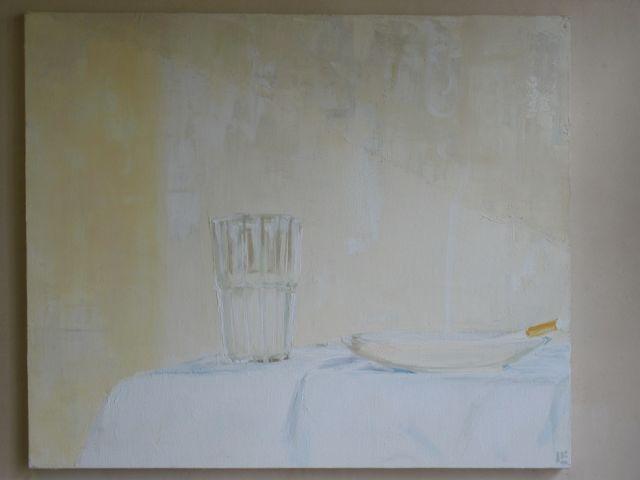 Brautigan's Brunch arylic on canvas, 50 x 60 cm