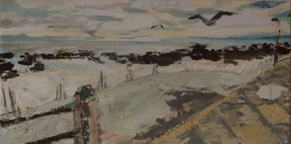Davies Pool Oil On Canvas 26 X 51 Cm 2009 R 1000