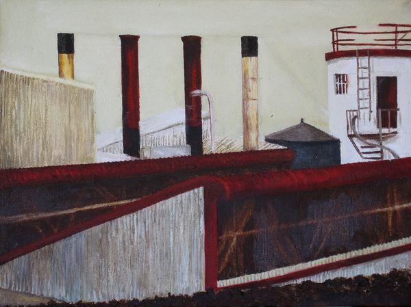 Hout Bay Stax Oil On Canvas 30 X 40 Cm 2006 R1250