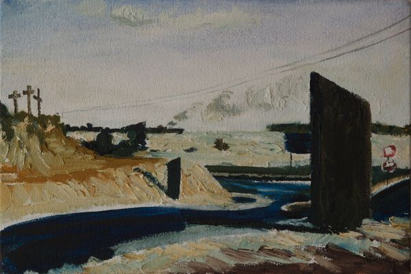 Interseption Oil On Canvas 20 X 30 Cm 2009 R800
