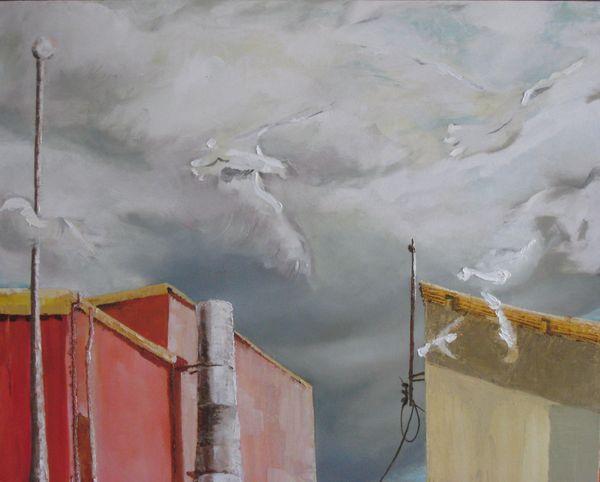 Sneokies Oil And Acrylic On Canvas 90 X 70 Cm 2008