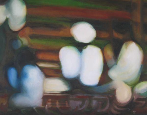 The Semitics Oil On Canvas, 70 X 90cm 2002