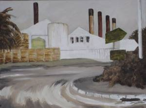Hout Bay Corner, Oil On Canvas 30 X 40 Cm 2009 R 1250