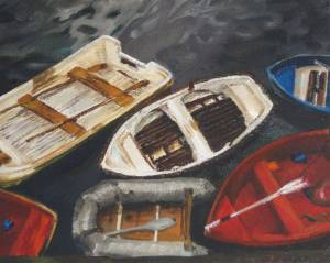 Mundaka Oil On Canvas
