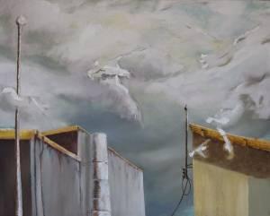 Snoekies Oil And Acrylic On Canvas 70 X 90 Cm 2008 R1500